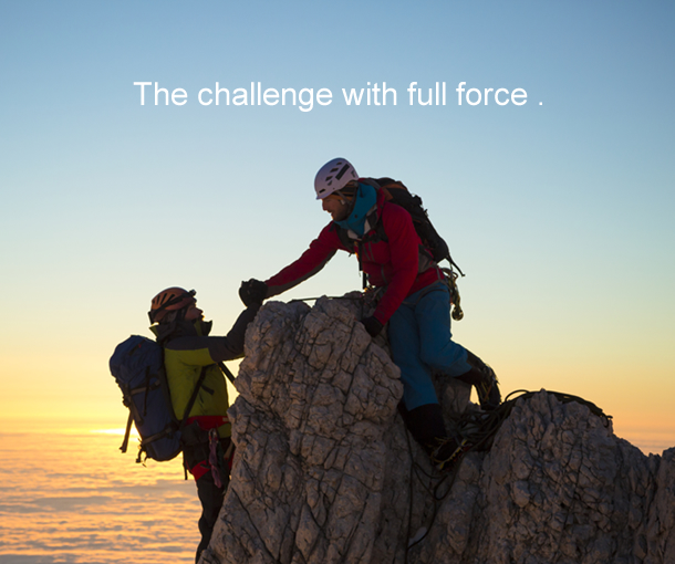 The challenge with full force .